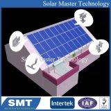 투구된 기와 지붕을%s 태양 PV 위원회 설치 시스템