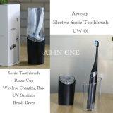 Diseño compacto para viajes Aiwejay Sonic Cepillo de dientes eléctrico recargable