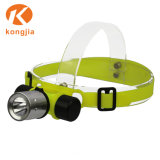 最もよい10W LEDのヘッドライトヘッドはアルミ合金のダイビングのヘッドライトをつける