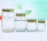 Cozinha de vidro de conservas de congestionamento de armazenamento de alimentos Mason boiões