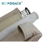 Filtro de Malha Nomex PTFE de fibra de saco de filtro de Mídia