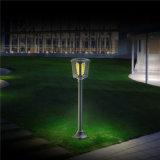 Verre clair paroi étanche de plein air solaire Imperméable Projecteur à LED