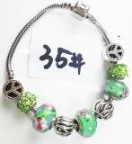 Armband Ref van de Charme DIY van vrouwen de Echte Zilveren Geplateerde Met de hand gemaakte: P 035