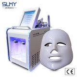 高エネルギー顔のスキンケアの美機械のための多機能の6つのN 1水酸素のジェット機の皮