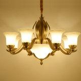 Indicatori luminosi Pendant di rame d'ottone del lampadario a bracci della decorazione