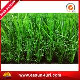 Moquette artificiale esterna del tappeto erboso per l'erba sintetica a buon mercato cinese del giardino