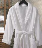 Commerce de gros super doux en coton blanc de l'hôtel unisexe Terry peignoirs de bain