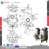 冷凍の工場シェルおよび管のタイプ海水のチタニウムの蒸化器のコンデンサーの防蝕熱、圧力容器
