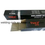 De Elektrode van het Koolstofstaal van Toko E6013 Met het Hoge Kalium dat van het Titanium wordt behandeld