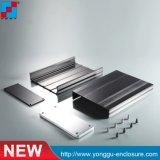 전자공학 PCB 알루미늄 울안을%s Ygw-016 145*54*200mm (WxH-L) 관례 OEM