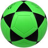 Tamaño y peso oficial PU Laminado de cuero PVC pelota de fútbol