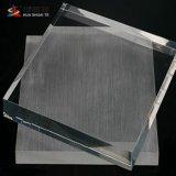 Feuille de plastique transparent de gros 5mm transparente feuille acrylique moulé