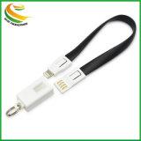 Commerce de gros câble de données d'Android Micro USB câble de données du trousseau