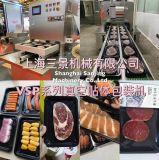 Machine van de Verpakking van het Dienblad van de Zeevruchten van het Schaap van de Biefstuk van het Rundvlees van het Gevogelte van het vlees de Automatische Vacuüm