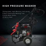 250 bar Elektrische benzinemotor hogedruk-waterstraalwagen Wasmachinereiniger