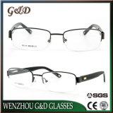 De recentste Oogglazen Eyewear van het Frame van de Glazen van het Metaal Optische