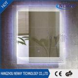 Specchio chiaro impermeabile della stanza da bagno inossidabile moderna calda LED di vendita
