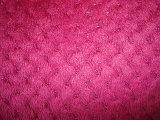二重ベロアの羊毛の編むファブリック