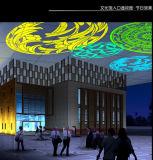 Indicatore luminoso grafico di tecnologie future in proiettore bianco di colore del viale 20W