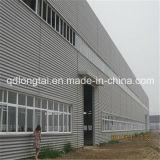 Ampla estrutura de aço da estrutura da luz abrangem a construção de edifícios prefabricados