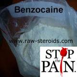 El 99% de polvo de anestésico local benzocaína las materias primas