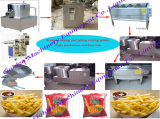 Frozen Potato Chips French Fries Making Production Line Machine