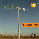 Turbina de vento horizontal da linha central 15kw usada para o subúrbio