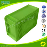 Contenitore di plastica pesante dell'Ue della casella di giro d'affari di colore verde