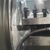 Awr2840PC 변죽 수선 합금 바퀴 선반 수선 장비 CNC 기계