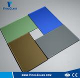 Abgetönter Gleitbetrieb verdrahtete gekopiertes keramisches Glas/farbiges ausgeglichenes reflektierendes Glas