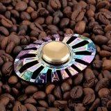 무지개 다채로운 방적공 이집트 딱정벌레 손 방적공
