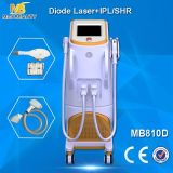 Laser di IPL Machine&Diode di rimozione dei capelli per ringiovanimento della pelle (MB810D)