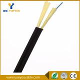 Cabo de fibra óptica do fio de Steelwire Aramid do mensageiro das fibras de FTTH 1/2