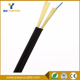 Cable de fibra óptica del hilado de Steelwire Aramid del mensajero de las fibras de FTTH el 1/2