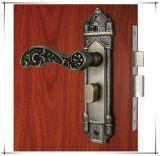 Fechamento de Mortise de bronze da porta do quarto da antiguidade do fechamento de porta do Mortise da prova de incêndio