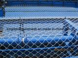 PVCによって塗られる電流を通されたチェーン・リンクの網