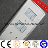 2016 Hot Sale 6W-80W Mouvement solaire LED Light Street Sensor Rue Integrated Solar Light All in One