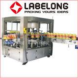 Hohe Kapazitäts-Rollenfed-heiße Schmelzbeschriftenmaschinerie für Mineralwasser-Zeile