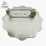 Tasto su ordinazione di spilla di sicurezza del metallo dell'intero di fabbrica della Cina di prezzi della vernice argento dell'oggetto d'antiquariato