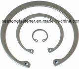 Anel de retenção de aço inoxidável / Anel / Anel Elástico (DIN471 / DIN472)