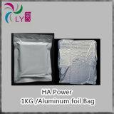O pó puro do ácido hialurónico de 99%, cruza o ácido hialurónico lig, ácido hialurónico puro