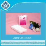 Ziguezague lã de algodão absorvente de tamanho 25g, 50G, 100G, 200g e 250g