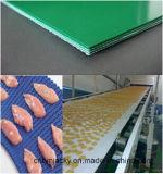 Bande de conveyeur blanche d'unité centrale de bande de conveyeur de PVC de catégorie comestible