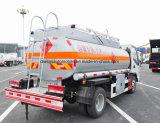 JAC 4X2 4000 L a 5000 L carro del dispensador del tanque del transporte del petróleo