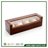 Caixa de relógio de madeira do indicador requintado para a venda