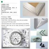 壁の台紙LEDのアクリルの細いライトボックスフレーム