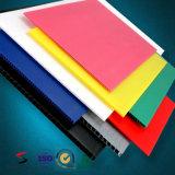 Colorare lo strato ondulato di plastica di colore di cartone corrugato di plastica