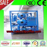 Máquina del purificador de petróleo del transformador del vacío, sistema de la limpieza de la filtración del petróleo inútil