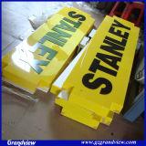 Acrylique carré moulé la pendaison de la signalisation (GD-CLG)
