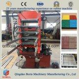 Carreaux de plancher de caoutchouc Making Machine